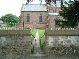 Vicar's entrance to Church