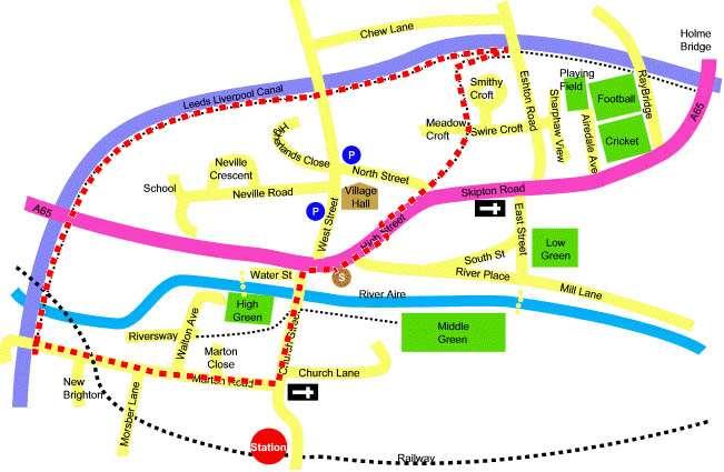 Gargrave aqueduct walk