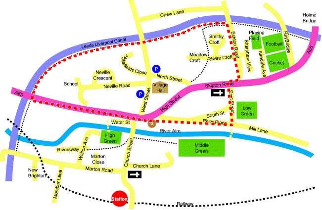 Gargrave canal banks walk